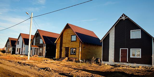 Построены новые дома в Благодатное - 2013 год